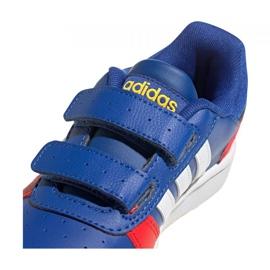 Adidas Hoops 2.0 C Jr FY9443 shoes black blue 3