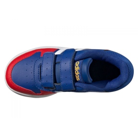 Adidas Hoops 2.0 C Jr FY9443 shoes black blue 4