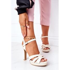 PW1 Elegant Sandals On A Bar Beige Anastasia 2