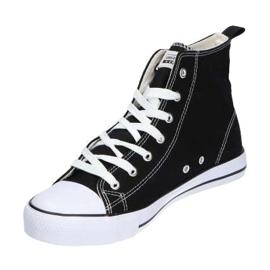 American Club LH01 / 21 black high-top sneakers 2