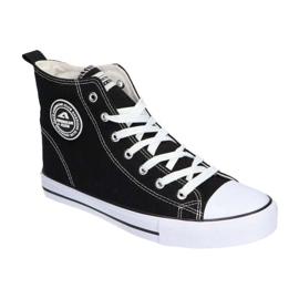 American Club LH01 / 21 black high-top sneakers 3