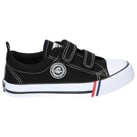 American Club Black American LH33 / 21 Velcro sneakers 2