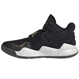 Shoes adidas Deep Threat Primeblue C Jr GZ0111 white black 1