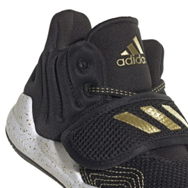 Shoes adidas Deep Threat Primeblue C Jr GZ0111 white black 3