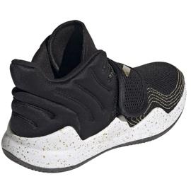 Shoes adidas Deep Threat Primeblue C Jr GZ0111 white black 5