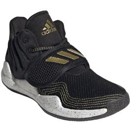 Shoes adidas Deep Threat Primeblue C Jr GZ0111 white black 7