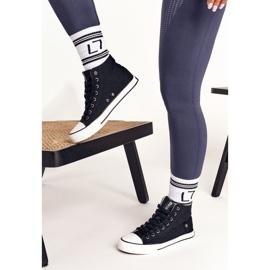 Women's High Sneakers Big Star DD274330 Black 4