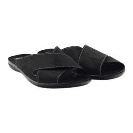 Men's slippers Adanex 20310 black 4
