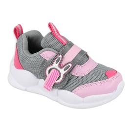 Befado children's shoes 516P091 pink grey 2
