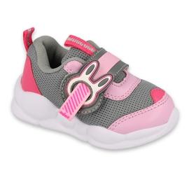 Befado children's shoes 516P091 pink grey 1