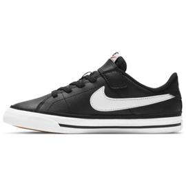 Nike Court Legacy Shoe Jr DA5381 002 black navy blue 1