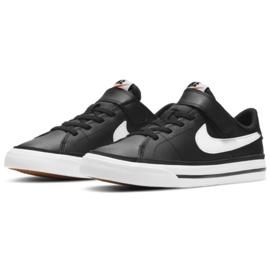 Nike Court Legacy Shoe Jr DA5381 002 black navy blue 2