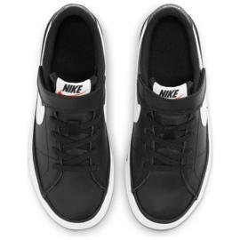 Nike Court Legacy Shoe Jr DA5381 002 black navy blue 4