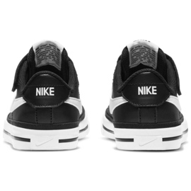 Nike Court Legacy Shoe Jr DA5381 002 black navy blue 5