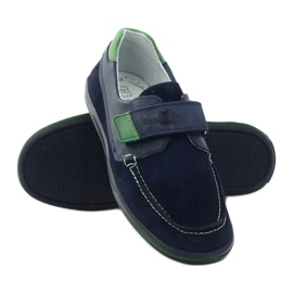 Boys' shoes, turnips, Ren But 4249 gr green navy 3