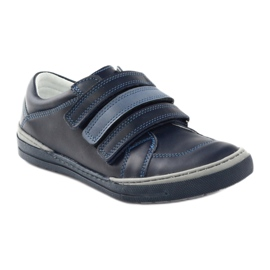Boys' shoes, velcro Bartuś, navy blue multicolored 1