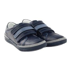 Boys' shoes, velcro Bartuś, navy blue multicolored 4