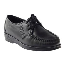 Moccasins for sensitive feet Solo 0015 black 1