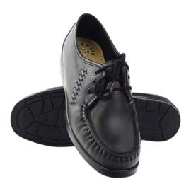 Moccasins for sensitive feet Solo 0015 black 3
