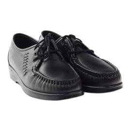Moccasins for sensitive feet Solo 0015 black 4