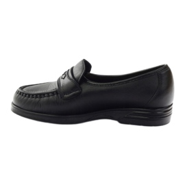 Loafers' heels for sensitive feet black Solo 015 2