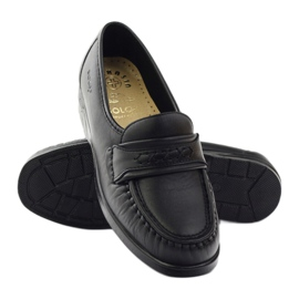 Loafers' heels for sensitive feet black Solo 015 3