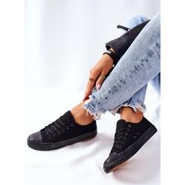 PS1 Women's Classic Black Omerta Sneakers 7