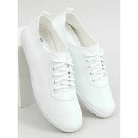 White women's sneakers JF-873 White 1