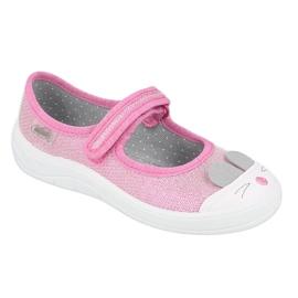Befado children's shoes 208X045 pink 1