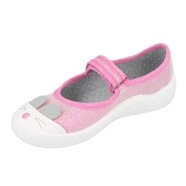 Befado children's shoes 208X045 pink 2