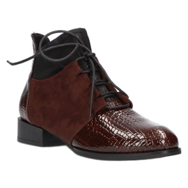 Women's Boots Leather Filippo DBT3034 / 21 BR brown 1