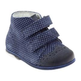 Leather shoes Hugotti velcro multicolored white 1