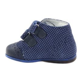 Leather shoes Hugotti velcro multicolored white 2