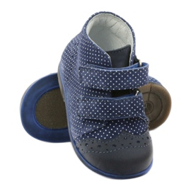 Leather shoes Hugotti velcro multicolored white 3