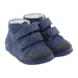 Leather shoes Hugotti velcro multicolored white 4