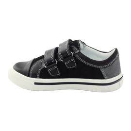 Boys' shoes Bartek 15607 black multicolored grey blue 2
