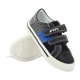 Boys' shoes Bartek 15607 black multicolored grey blue 3