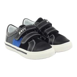 Boys' shoes Bartek 15607 black multicolored grey blue 4