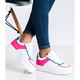 SHELOVET Fashionable Sports Shoes white 2