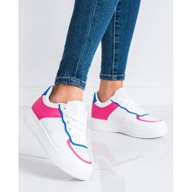 SHELOVET Fashionable Sports Shoes white 1
