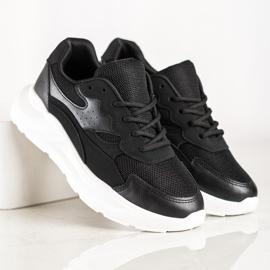 SHELOVET Casual Black Sneakers 3
