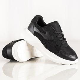 SHELOVET Casual Black Sneakers 4