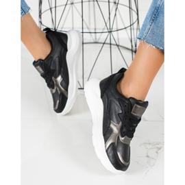 SHELOVET Sneakers On The Platform black 1