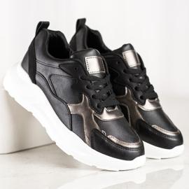 SHELOVET Sneakers On The Platform black 2