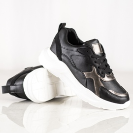 SHELOVET Sneakers On The Platform black 3