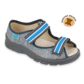 Befado children's shoes 869X157 blue grey 2
