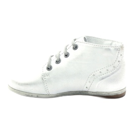 Silver Hugotti tied leather shoes grey 2