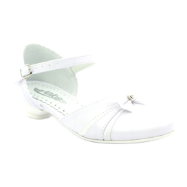 Courtesy ballerinas Communion Miko 702 white 1