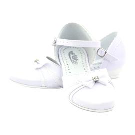 Courtesy ballerinas Communion Miko 702 white 3