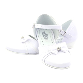 Courtesy ballerinas Communion Miko 702 white 3